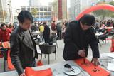 杨殷先生和侯庆华先生